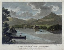 Ross Island in the lake of Killarney, from Innisfallen