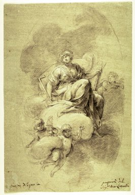 Allegorical Figure of Architecture