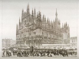 Cathedral Milan -- N.W. View