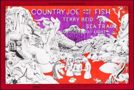 Country Joe & the Fish, Terry Reid, Sea Train, December 12 - 15, Fillmore West