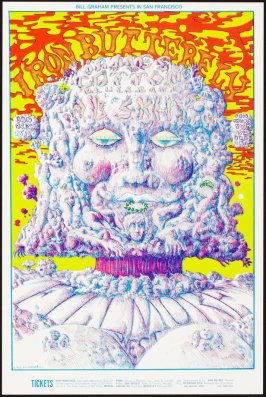 Iron Butterfly, James Cotton Blues Band, A.B. Skhy, January 23 - 26, Fillmore West