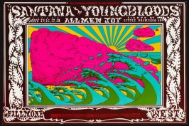 Santana, Youngbloods, Almen Joy, May 15 - 18, Fillmore West