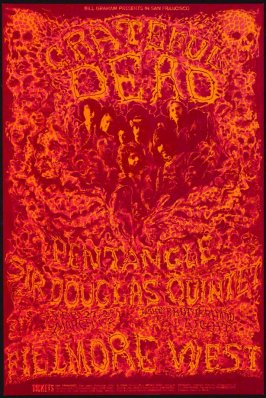 Grateful Dead, Pentangle, Sir Douglas Quintet, February 27 - March 2, Fillmore West