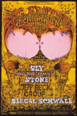 Big Brother & the Holding Company, Richie Havens, Illinois Speed Press, July 16 - 18, Sly & the Family Stone, Jeff Beck Group, Siegal Schwall, July 19 - 21, Fillmore West