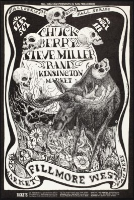 Chuck Berry, Steve Miller Band, Kensington Market, September 5 - 7, Fillmore West