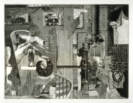Plate III, from the book, Dennis Hopper/One Man Show/Volume One