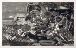 Plate II, from the book, Dennis Hopper/One Man Show/Volume Three