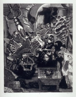 Plate II, from the book, Dennis Hopper/One Man Show/Volume Two