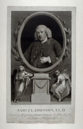 Portrait of Samuel Johnson