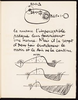 Untitled, pg. 15, in the book Le Poéme de l'angle droit by Edmond Jeanneret (Le Corbusier) (Paris: Tériade Éditeur, 1955)