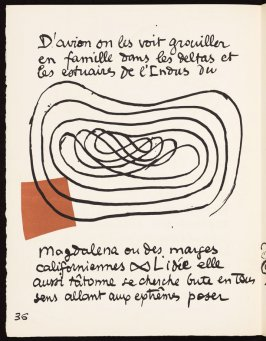 Untitled, pg. 36, in the book Le Poéme de l'angle droit by Edmond Jeanneret (Le Corbusier) (Paris: Tériade Éditeur, 1955)