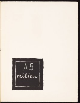Untitled, pg. 43, in the book Le Poéme de l'angle droit by Edmond Jeanneret (Le Corbusier) (Paris: Tériade Éditeur, 1955)