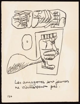 Untitled, pg. 124, in the book Le Poéme de l'angle droit by Edmond Jeanneret (Le Corbusier) (Paris: Tériade Éditeur, 1955)