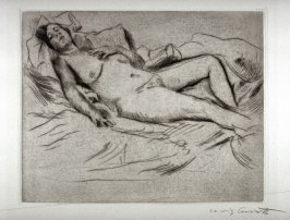 Schlafende (Sleeping Nude Woman)