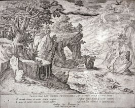 The Shipwreck, from a set of four allegorical landscapes