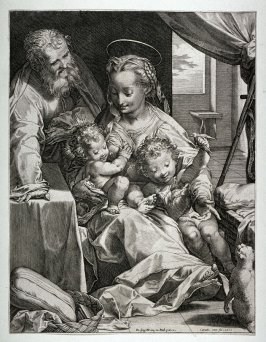Holy Family with a Cat