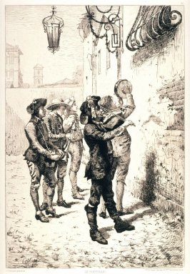 Le Pifferari (The Pipers), from L'Eau Forte en 1881