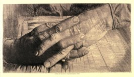 Study of a old woman's hands
