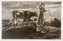 Figures with Cow