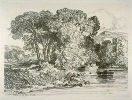 On the Nare, Norfolk, plate 4 from Liber Studiorum