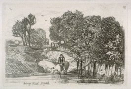 Felbrigg Heath, Norfolk, plate 20 from Liber Studiorum