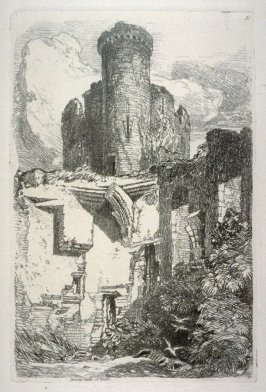 Conway Castle, N. Wales, plate 31 from Liber Studiorum