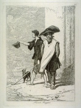 French Beggars, plate 45 from Liber Studiorum