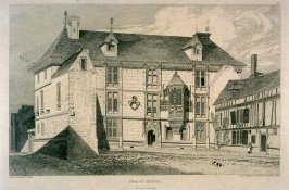 Great House, from the series 'Architectural Antiquities of Normandy'