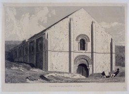 Chapel in the Castle at Caen, from the series 'Architectural Antiquities of Normandy'