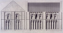 Church of Fontaine-Le-Henri, Near Caen, from the series 'Architectural Antiquities of Normandy'