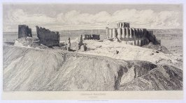 Chateau Gaillard, from the series 'Architectural Antiquities of Normandy'