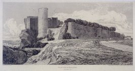 Castle of Falaise, from the series 'Architectural Antiquities of Normandy'