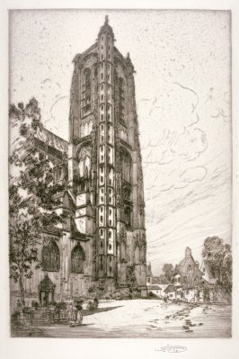 The Great Tower, Bourges Cathedral