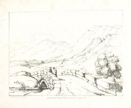 Illustration 10 in the book A Series of Progessive Lessons intended to Elucidate the Art of Landscape Painting (London: T. Clay, 1828)
