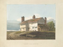 A Cottage, Illustration 15 in the book A Series of Progessive Lessons intended to Elucidate the Art of Landscape Painting (London: T. Clay, 1828)