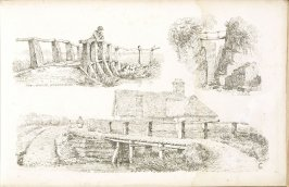 Plate 9 in the book A Treatise on Landscape Painting and Effect in Water Colours…by David Cox (London: S. and J. Fuller, 1814)