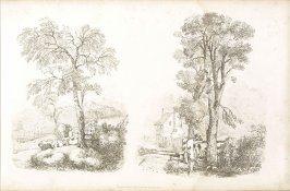 Plate 17 in the book A Treatise on Landscape Painting and Effect in Water Colours…by David Cox (London: S. and J. Fuller, 1814)