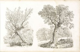 Plate 18 in the book A Treatise on Landscape Painting and Effect in Water Colours…by David Cox (London: S. and J. Fuller, 1814)