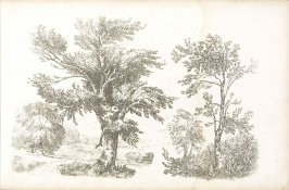 Plate 19 in the book A Treatise on Landscape Painting and Effect in Water Colours…by David Cox (London: S. and J. Fuller, 1814)