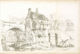 Plate 21 in the book A Treatise on Landscape Painting and Effect in Water Colours…by David Cox (London: S. and J. Fuller, 1814)