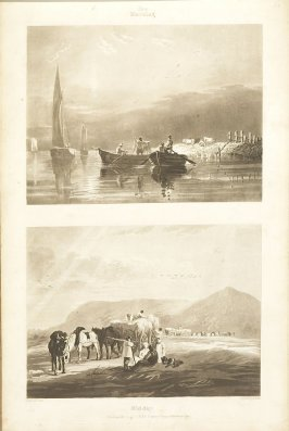 Plate 30 in the book A Treatise on Landscape Painting and Effect in Water Colours…by David Cox (London: S. and J. Fuller, 1814)
