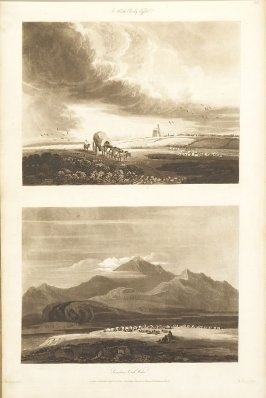 Plate 31 in the book A Treatise on Landscape Painting and Effect in Water Colours…by David Cox (London: S. and J. Fuller, 1814)