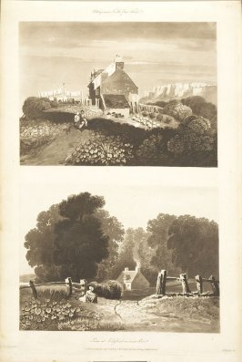 Plate 32 in the book A Treatise on Landscape Painting and Effect in Water Colours…by David Cox (London: S. and J. Fuller, 1814)
