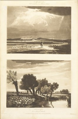 Plate 33 in the book A Treatise on Landscape Painting and Effect in Water Colours…by David Cox (London: S. and J. Fuller, 1814)
