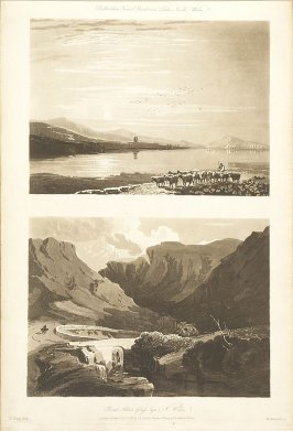 Plate 34 in the book A Treatise on Landscape Painting and Effect in Water Colours…by David Cox (London: S. and J. Fuller, 1814)