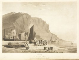 Plate 35 in the book A Treatise on Landscape Painting and Effect in Water Colours…by David Cox (London: S. and J. Fuller, 1814)