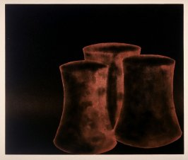 Working Proof 2 for Untitled (3 Curved Cylinders #1) (Unpublished)