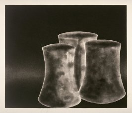 Working Proof 1 for Untitled (3 Curved Cylinders #1) (Unpublished)