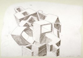 Drawing for Untitled (Numerals)