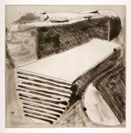 Working Proof 5 for Untitled (Cut Logs) (Unpublished)